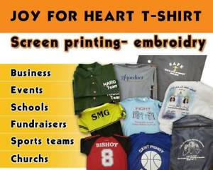 Screen Printing Custom Tshirt 100 Shirt 1 Color 1 Location