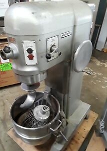 Hobart Mixer H 600 60qt 1 Phase 230v 1 5hp Reconditioned used