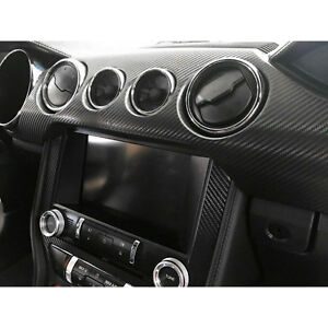 Mustang Interior Trim Kit Vinyl Overly Carbon Fiber 2015 2017