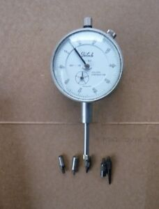 Teclock Dial Gauge A1 921 001 1 0 Dial Indicator W Magnetic Backing