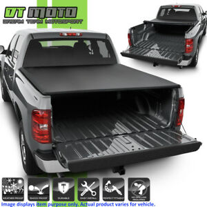 2007 2013 Chevy Silverado Gmc Sierra 1500 5 8ft 68 Bed Roll Up Tonneau Cover