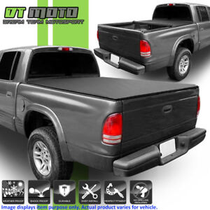 Roll Up Tonneau Cover For 1997 2004 Dodge Dakota Regular Club Cab 6 5 78 Bed