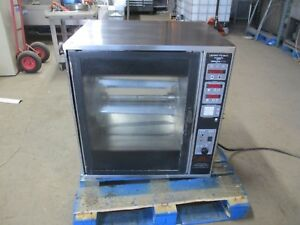 Henny Penny Scr 6 Rotisserie Oven Electric W Spits Grocery Commercial Tabletop