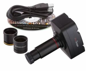 Amscope Ma500 5mp Microscope Digital Camera For Windows Mac Os