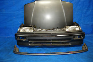 Jdm Honda Civic Ef Bumper Lip Headlights Corner Lights Hood Filler 1988 1991 Ef1