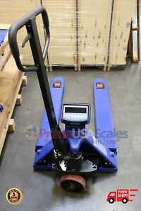 5 Year Warranty Pallet Jack Scale With Built in Scale 6 600 X 1 Lb Capacity