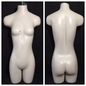 Vintage Jcpenney Retail Display Stand Headless Female Mannequin Dress Form