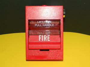 Edwards Est Siga 278 Dual Action Fire Alarm Pull Station Free Fedex 2 day Ship