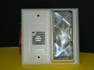 Edwards 6536 g5 Horn Strobe Fire Alarm Signaling Device