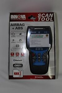 New Innova 3140g Obd2 1 Scantool Kit With Airbag Abs With Live Data