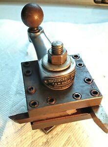 Mastercraft 2 5 Square 4 Position 4 Way Tool Post From Souhbend 9 Lathe