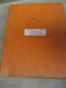 Ford 715 Mast 4000 Tractor Forklift Parts Catalog Book Manual Marshall