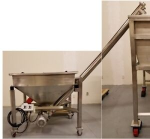 Conveyor Hz 2a3 All Stainless Steel 304 Food Grade dry Powder