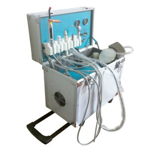 Dental Portable Delivery Unit Led Curing Light slow Suction ultrasonic Scaler Us