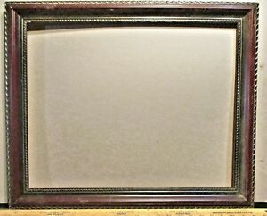 Modern Large Gold Leaf Double Strips Picture Frame 23 1 2 X 19 1 2