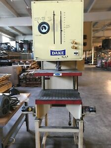 Dake 12 Ton C frame Hydraulic Press With Force Monitor