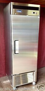New 1 Door Reach In Freezer Atosa Mbf8501 9434 Commercial Stainless Steel Nsf