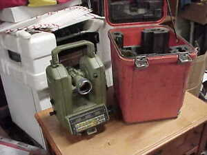 Leica Wild Heerbrugg Theomat T2000 And Case