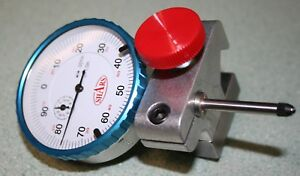 South Bend 9 10k Dial Indicator Mount With New 1 Travel Agd Dial Indicator