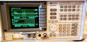 Hp 8591e Rf Spectrum Analyzer 9khz 1 8ghz Tested