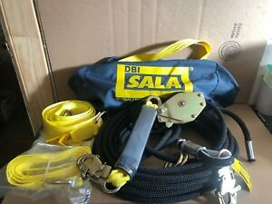 Dbi Sala 7600506 Horizontal Lifeline System 60ft W Bag new Free Shipping