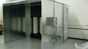 Powder Paint Booth open Type10 Wide X 8 Tall