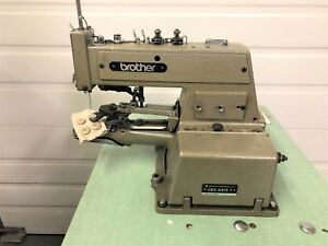 Brother Cb3 b915 1 Button Sewer 220v Complete Unit Industrial Sewing Machine