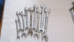 Craftsman Open End Wrench Set V Series Sae 9 Pieces
