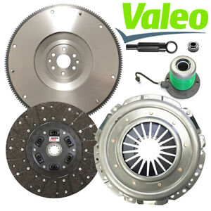 Valeo Stage 2 Slave Clutch Kit Nodular Flywheel For 2005 10 Ford Mustang Gt 4 6l
