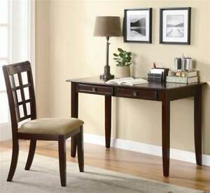Table Desk W Chair In Cherry Finish id 126158
