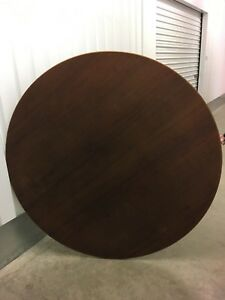 Rosewood Antique Round Table Top 54