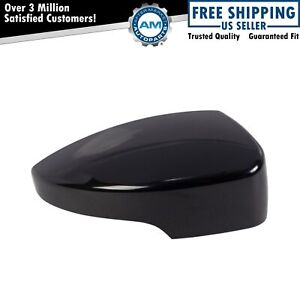 Mirror Cap Smooth Black Passenger Right Rh For Escape Focus Cmax With Signal New