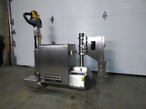 Mastermover Mt5 400 Electric Tug Stainless Steel 8000lb 36 Hours