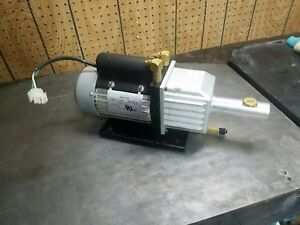 Robinair Ra20031 541343 Vacuum Pump 1 5 Cfm 2 Stage 110v does Not Ship With Oil