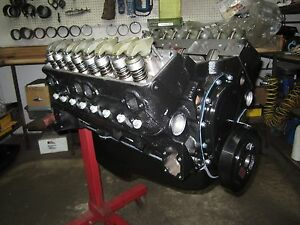 Chevy 400 Hp 383 Stroker Engine Motor With New Cast Iron High Flow Heads