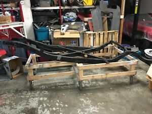 1957 Corvette Frame Original C1 Solid Axle Chassis With Title And Tag 57