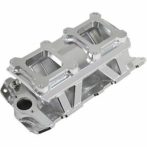 Holley 825071 Sniper Sheet Metal Fabricate Intake Manifold For Small Block Chevy