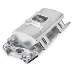 Holley 835011 Sniper Sheet Metal Fabricated Intake Manifold For Big Block Chevy
