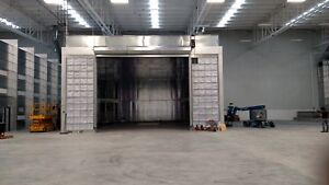 Truck Paint Spray Booth cross Draft 40 Wide X 25 Tall X 55 Long