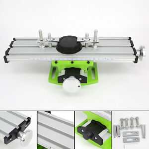 Milling Worktable Machine Compound Work Table Slide Drill Press Aluminum Alloy
