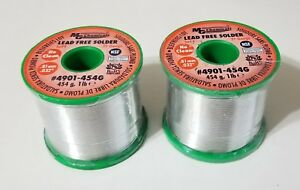 2lb Mg Chemicals Sn99 032 81mm Solder 2 2 No Clean Flux Lead Free 4901 454g