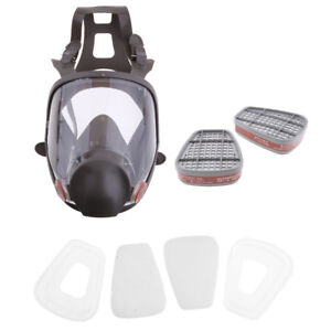 Face Paint Spray Gas Mask Respirator Protective Safety Work Dust Proof