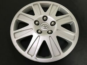 Toyota Matrix 16 Oem Wheel Cover Hub Cap Silver Finish 42602 Yy070 2011 2014