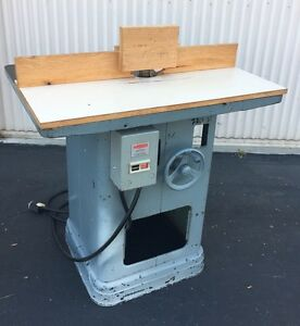 Heavy Duty Delta rockwell Shaper 220v 3 Phase woodworking Machinery