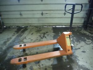 Used Jamco Eagle 55 5500 Lb Capacity 27 X 48 Hand Truck Pallet Jack