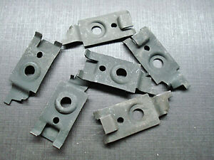 1959 1965 Buick Cadillac Chevrolet Pontiac Armrest Base Nuts Clips Nors 4819356