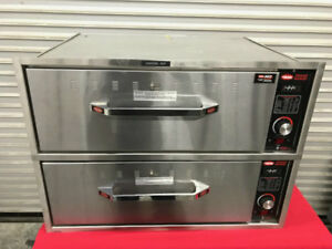 New Two Drawer Warmer Hatco Hdw 2b 9402 Warming Cabinet Food 2 Bread Chips Nsf
