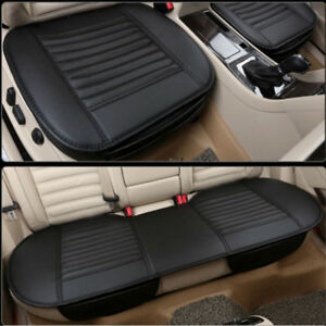 2019 Universal Pu Leather Front Rear Car Seat Cover Breathable Pad Mat Cushion