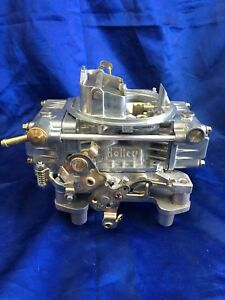 Remanufacture Holley 600cfm Manual Choke Carburetor List 1850 11