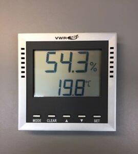 Vwr Traceable Hygrometer thermometer 4410 Labware